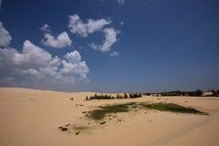 White Sand Dunes, Vietnam Stock Images
