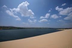White Sand Dunes, Vietnam Royalty Free Stock Photos