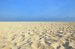 White sand field Royalty Free Stock Photos
