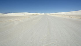 White Sand Highway Royalty Free Stock Image