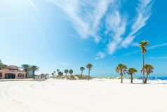Free White Sand In Clearwater Beach Royalty Free Stock Image - 189018076