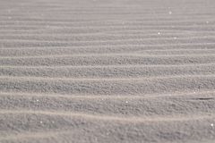White Sand Pattern in New Mexico, USA stock photos