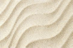 White sand texture background with wave pattern. White starfish on sand texture background with wave pattern, sand texture stock photography