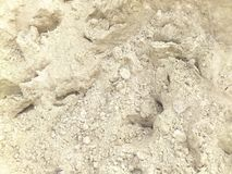 WHITE SAND TEXTURE. This image shows the white sandy texture intended for real estate construction stock photos