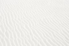 White Sand Texture. Ripples in white sandy beach (Florida stock image