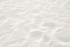 White Sand Texture. Ripples in white sandy beach (Florida stock photography