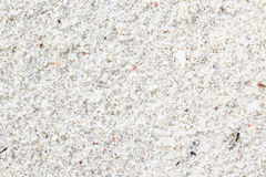 White sand of a tropical beach Royalty Free Stock Photography