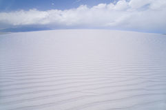 White Sands Stock Photo