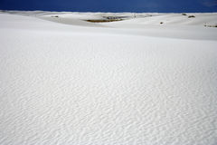 White Sands. Desert Landscape in White Sands National Monument, New Mexico Royalty Free Stock Photo
