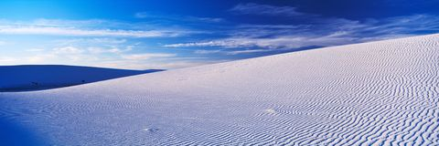 White Sands Royalty Free Stock Image