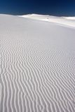 White Sands and Dark Sky Royalty Free Stock Photo