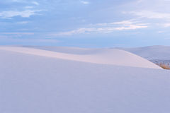 White  Sands at dawn Stock Photos