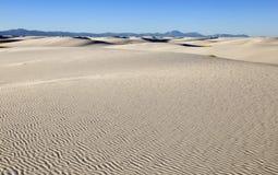 White sands desert vista Stock Photography