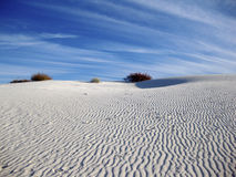 White Sands Dune Stock Photography