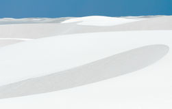 White Sands landscape Stock Images
