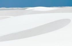 White Sands landscape Stock Images