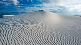 White sands. Landscape shot of white sands Stock Images