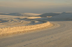 White sands monument Royalty Free Stock Photo