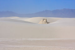 The White Sands Nat. Park. Royalty Free Stock Images
