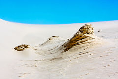 The White Sands Nat. Park. Royalty Free Stock Image