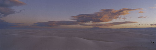 White Sands National Monument. Stock Images