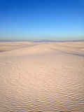 White Sands. National Monument in New Mexico Stock Image
