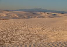 White Sands National Monument Sunset Stock Photos