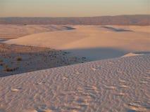 White Sands National Monument Sunset Stock Image