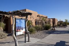 Free White Sands National Park Information Center In New Mexico Stock Images - 91996084