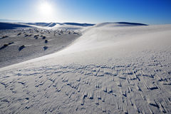 White Sands National Park Royalty Free Stock Images