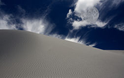 White Sands New Mexico Stock Photo