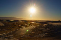 White sands new mexico Stock Photography