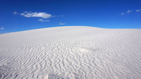 White Sands, New Mexico Royalty Free Stock Photos