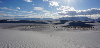 White Sands, New Mexico Stock Image