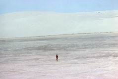 White Sands in New Mexico Royalty Free Stock Photo