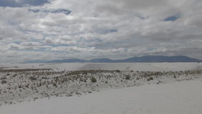 White Sands in New Mexico stock footage