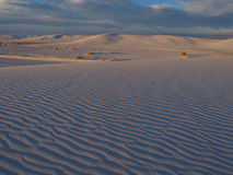 White Sands Sunset Stock Images
