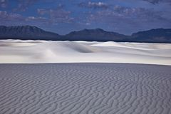 White Sands Royalty Free Stock Photos