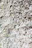 White sandstone outcrops Stock Images