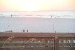 White Sandy Beach Royalty Free Stock Photos