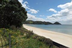 White sandy beach Stock Image