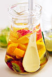 White Sangria Stock Photography