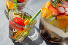 White sangria Royalty Free Stock Photos