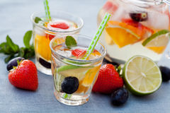 White sangria Stock Images