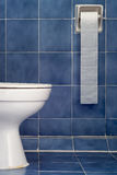 White Sanitary Ware And Long Tissues Stock Image