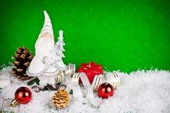 White santa toy Stock Photos