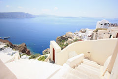 White Santorini Royalty Free Stock Photography