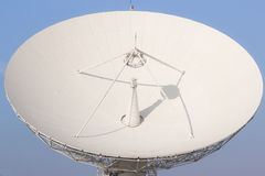 White Satellite radio transmission in Thailand Royalty Free Stock Photography