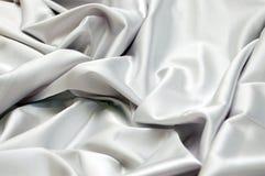 White satin background. Elegant and soft white satin background Royalty Free Stock Photo