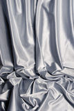 White satin background Stock Photos